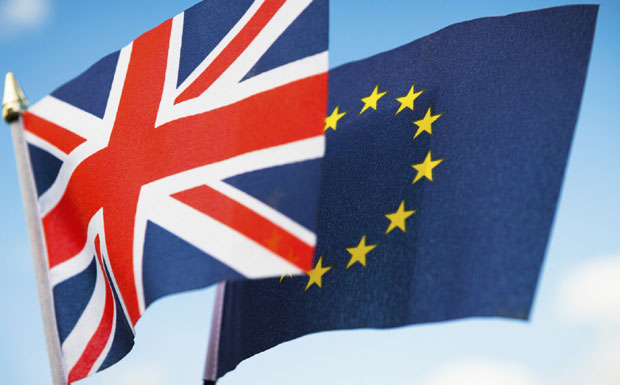 Brexit flags image