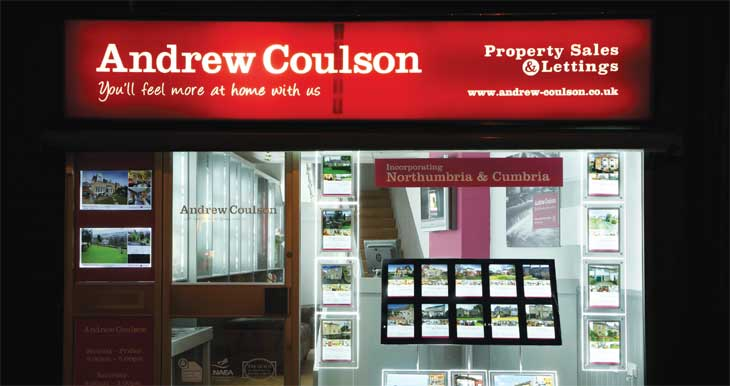 Andrew Coulson agency exterior