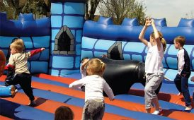 Bouncy castle image