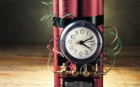 Ticking timebomb image