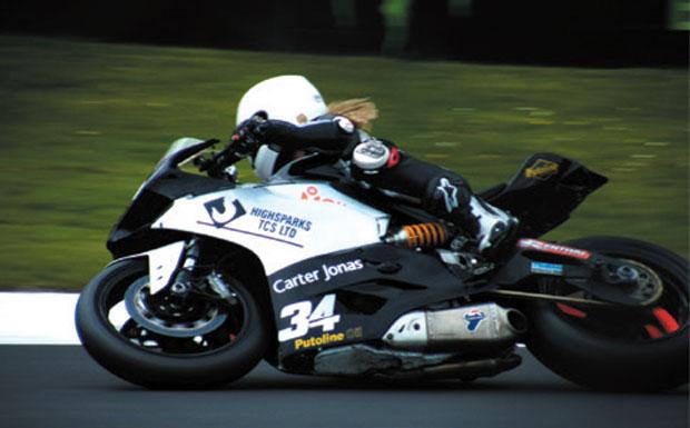 Stephanie Waddelow, bike racer, image
