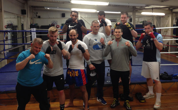 Agents charity boxing event image