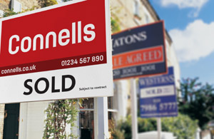 Connells sold sign image