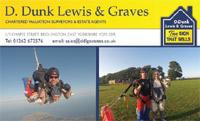 D. Dunk Lewis & Graves skydiving image