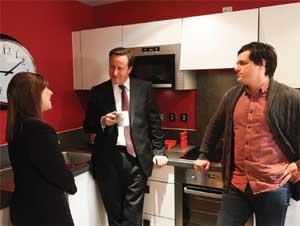 David Cameron PM in Barratt hom image