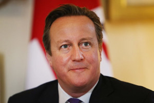 David Cameron MP image