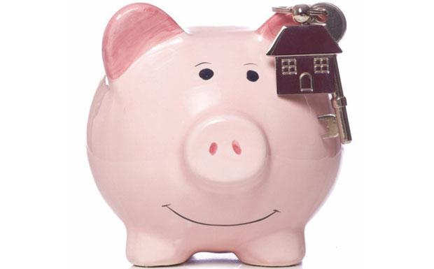 Piggy bank saving image