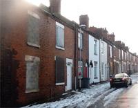 empty and sad housing image