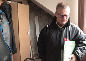 Paul Shamplina, Landlord Action, image evict a tenant