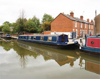 Canal boat image