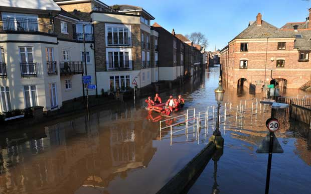 York flooding image