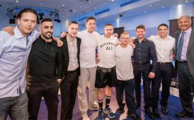 Rumble with the Agents charity boxing event image