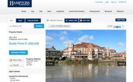 Hamptons website image