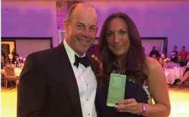 Phil Spencer & Kathryn Hunter fundraising image