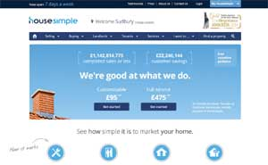 Housesimple website image