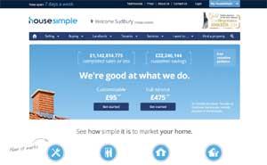 Housesimple website image