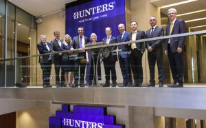 Hunters Stock Exchange image property industry