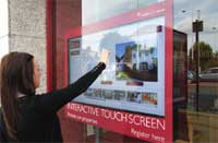 interactive screen technology image