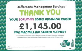 Fundraising for Macmillan image