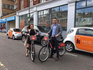 Keatons agents on bikes image