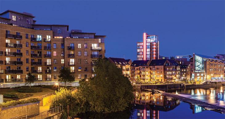Leeds city image