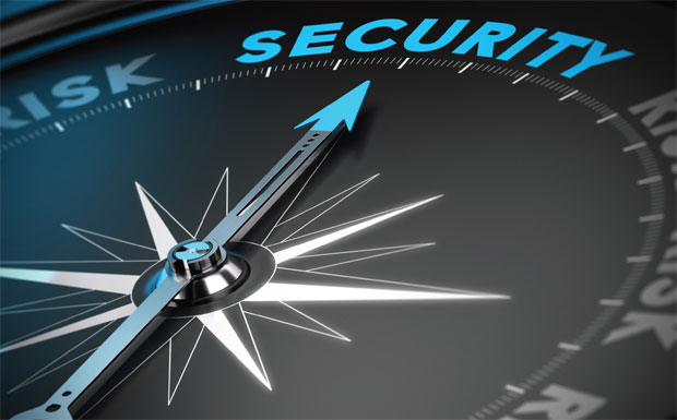 Security and risk gauge image
