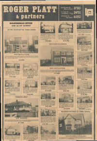Local paper adverts image