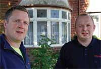 Mark and Philip Stewardson