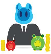 piggy bank multiple agency fees image