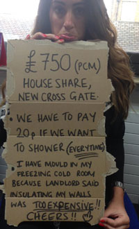 New Cross tenant's woes image