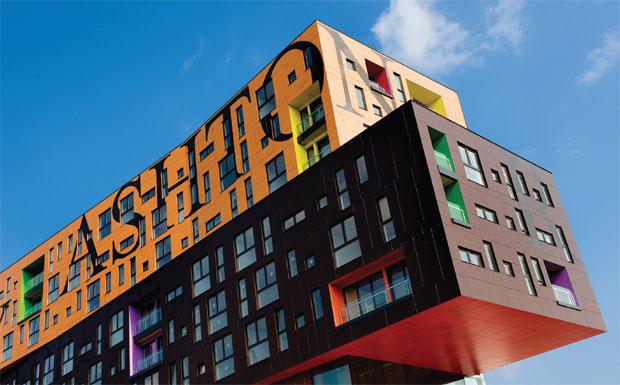 Modern housing image