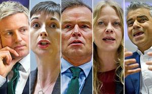 London Mayoral candidates image