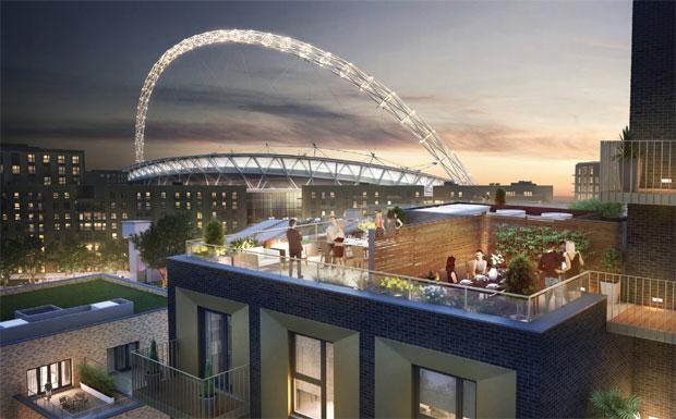 London rooftop gardens image