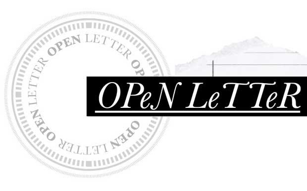 Open Letter image