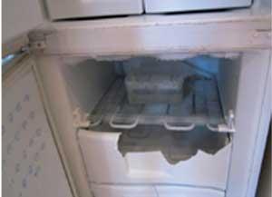 broken freezer image
