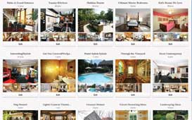 Pinterest screen shot image