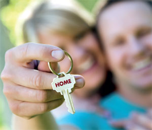 New home key image