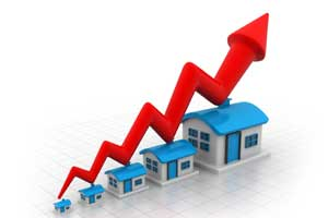 house prices rise image
