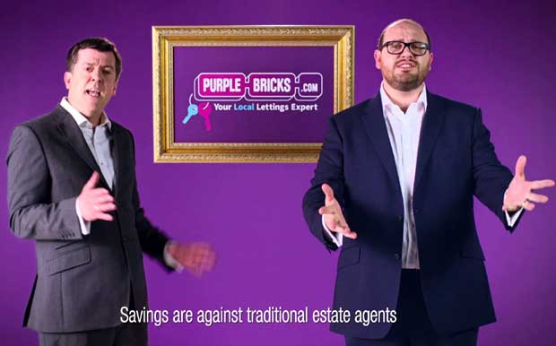 Purplebricks advertising image