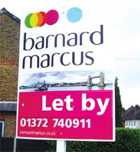 Barnard Marcus signboard image