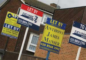 to let / let by boards image