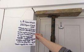 Lewisham tenant's complaint image
