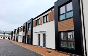 New council houses image