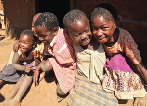 Orphans in Malawi image