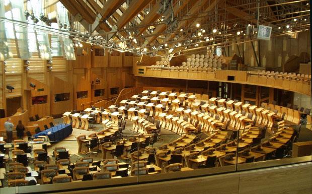 Scottish parliament image