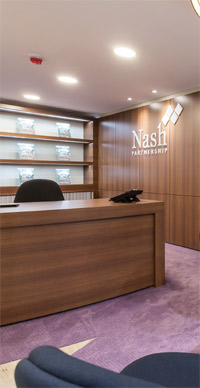Nash Patrnership agency interior