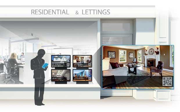 high-tech agency window image