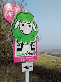 Ewe Move signboard image