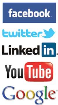 social media platform images