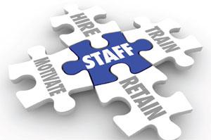 Staff training & retention image